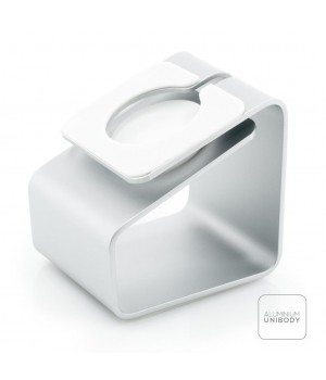 iWatch Charging Station, Aluminum Silver