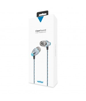 ClearSound In-Ear Headphones, Handsfree, Grey