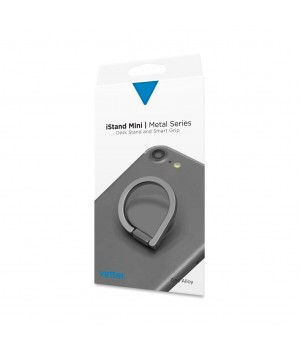 iStand Mini   Desk Stand and Smart Grip   Metal Series   Grey