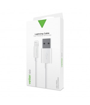 Lightning Cable, Vetter GO, White
