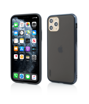 iPhone 11 Pro Max, Clip-On Hybrid, Dual Edge and Matte Back Cover, Black